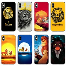 Luxury The Lion King Best For Xiaomi Mi A3 A2 lite A1 6 6x 5 5s 5x 4c 4i max mix 1 2 2s 3 Pocophone F1 Phone Case Back Cover(China)