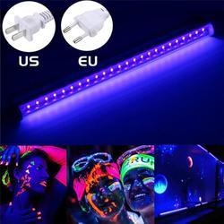 Светодиодный УФ-светильник, черный, 10 Вт, T8, встроенная лампочка, черный светильник, портативный, 32 см, черный, УФ-светильник, светодиодный, ле...