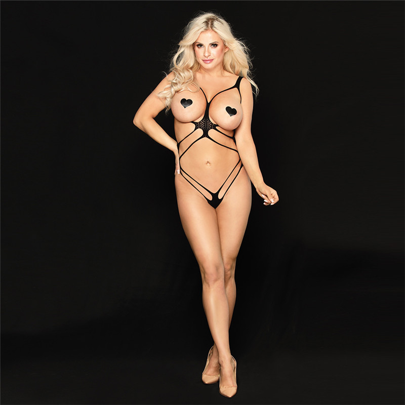Open Bra Sexy Lingerie Women Porno Fetish Babydoll Bodystocking Hot Erotic Sex CLothes Latex Catsuit Underwear Lenceria Mujer