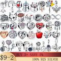 2021 New 100% Real 925 Sterling Silver Fish Girl Boy Charm Bead Fit Pandora charms original Bracelets DIY Jewelry For Women Gift