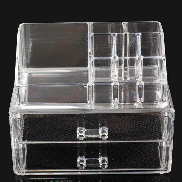 Acrylic Cosmetic Organizer Drawer Makeup Case Storage Insert Holder Box Lippenstift Nagellak Houder Vrouwen Makeup Tool Organize