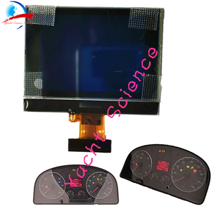 Half Size Dashboard Instrument Cluster VDO LCD Display Pixel Repair for VW Touran Passat Tiguan Golf 5 Caddy Jetta SEAT Toledo(China)