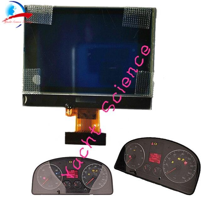 ハーフサイズダッシュボード計器クラスタ VDO LCD 表示画素修理 Vw トゥーランパサートティグアンゴルフ 5 Caddy Jetta シートトレド