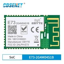 10 개/몫 E73 2G4M04S1B nRF52832 2.4GHz 송수신기 무선 rf 모듈 Ble 5.0 수신기 송신기 블루투스 모듈