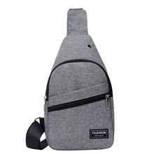 Chest Bag Unisex Letters Solid Zipper Wear-resistant Shoulder Bag Versatile Purses And Handbags Bolsa Feminina Bolsos Mujer Sac