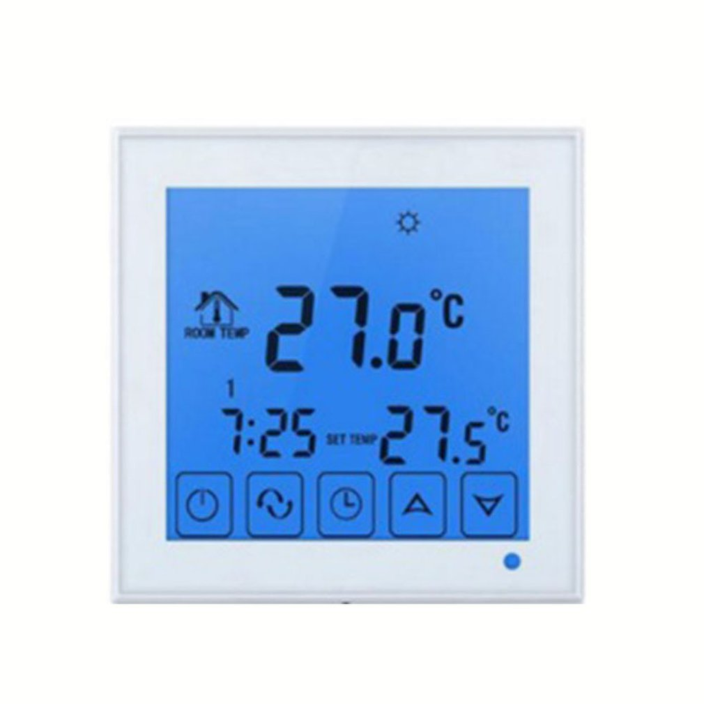 HY03WW-1 Intelligent Thermostat Wifi Digital Wireless Touch Temperature Controller Water Heating Radiator Thermostat