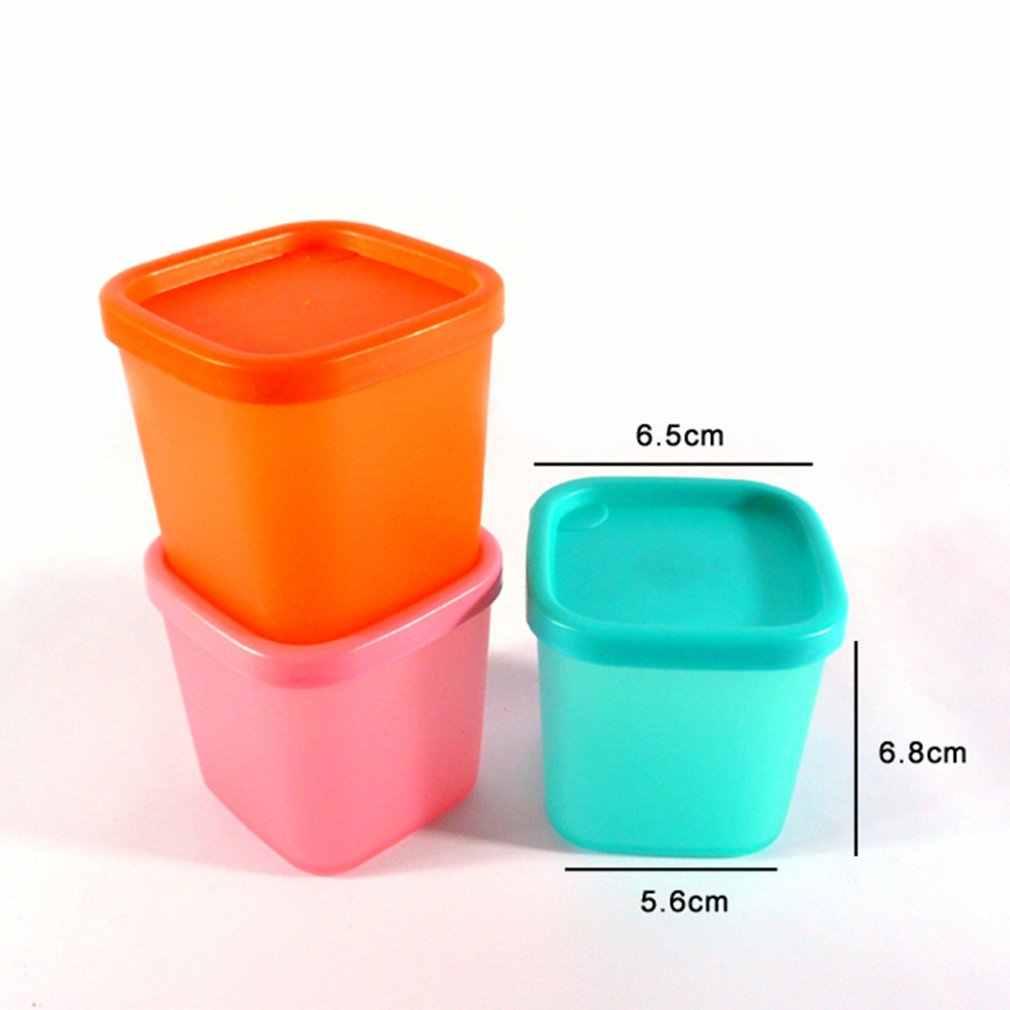 230ml de Mini Caixa De Armazenamento De Alimentos geladeira Caso Fresco-mantimento Uso de microondas Recipiente de armazenamento caixa de Lanche de Frutas Cozinha Organizador