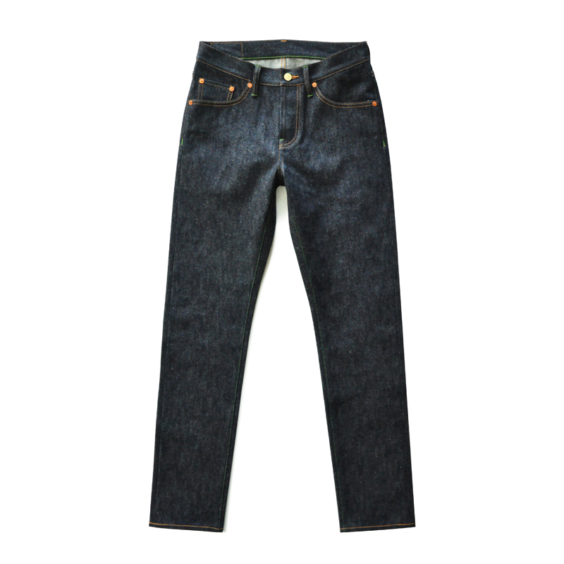 SAUCE ORIGIN 910-CL Selvedge Jeans Raw Jeans Mens Jeans  Mens Jeans Brand   American Cotton Slim Fit Jeans For Men Blue Jeans