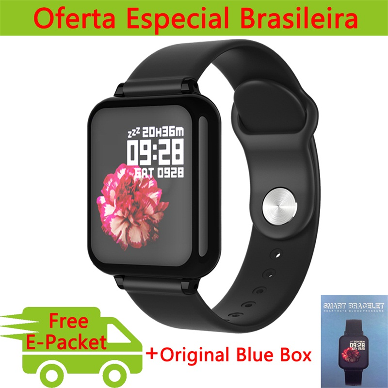 Hero Band 3 Dropshipping B57 Smart Watch Men Women For Apple Watch Android Phone Heart Rate Blood Pressure B57 Smartwatch(China)