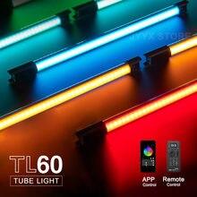 Godox TL60 RGB Tube lumineux Pavotube extérieur bâton d'éclairage portable télécommande APP contrôle pour Studio de photographie vidéo