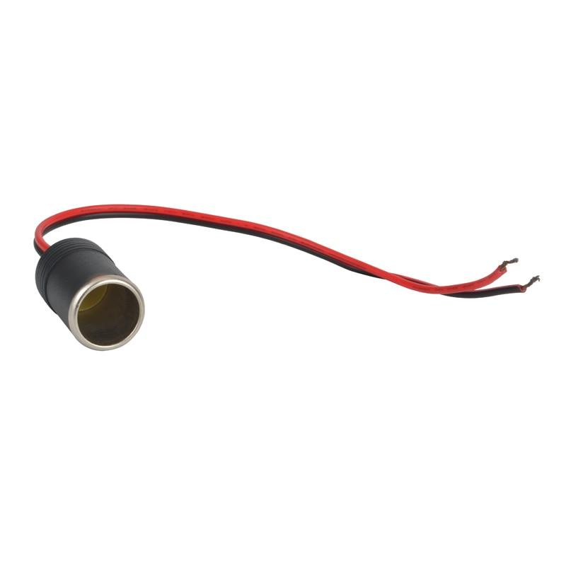 Car Cigarette Lighter Adapter Female Socket Plug 12V 10A Max.120W For Walkie Talkie Car Battery Eliminator ,mobile Radio