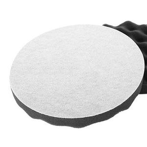 Image 2 - New 3M 05725 Foam Polishing Pad Dia. 8 in (2 Pads in ) Sponge disc Black wave polishing sponge wheel Waxing Car paint protection
