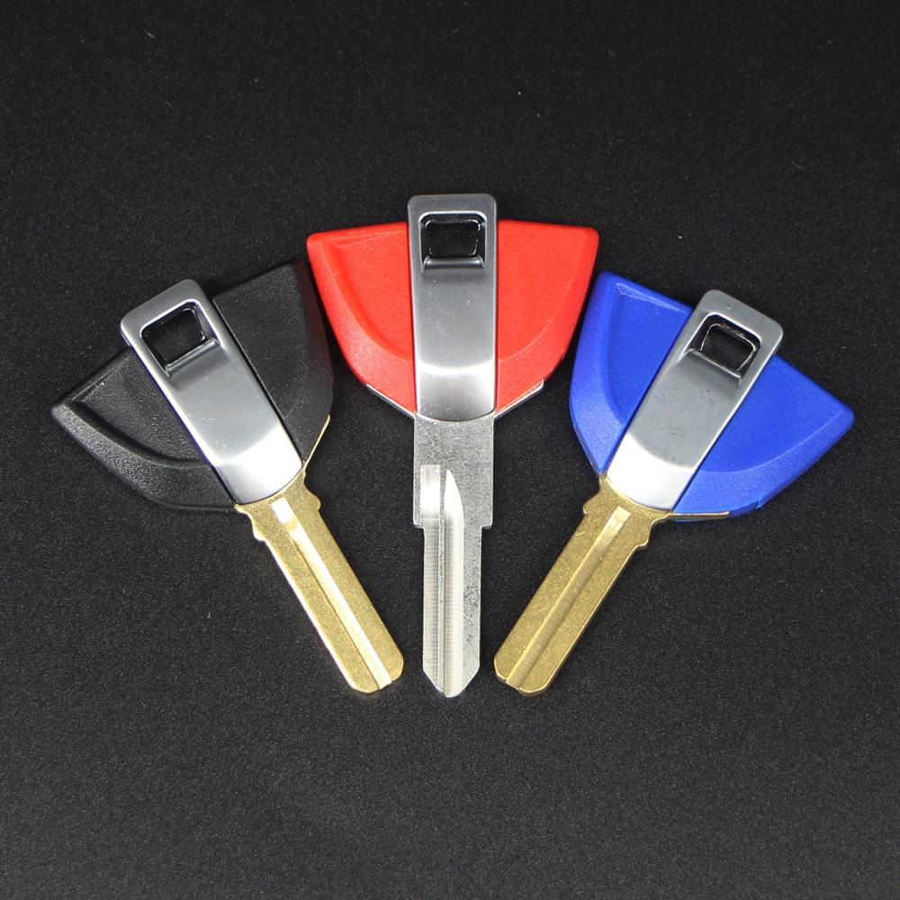 For BMW R1200R R1200GS ADV LC R1200S K1300GT K1200R K1300R S1000RR/R HP4 Replacement Uncut Blank Embryo Key Motorcycle Parts Key
