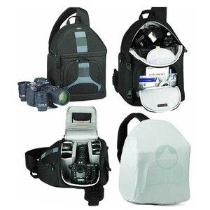 Image 4 - Lowepro SlingShot 300 AW DSLR Camera Photo Sling Borsa A Tracolla con il Tempo Della Copertura di Trasporto Libero