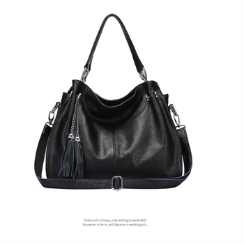 Women Handbag Genuine Leather Tote Bag Lady  Shoulder Bag Female Large Capacity Tote Bag Lady Crossbody Messenger Bag For Women