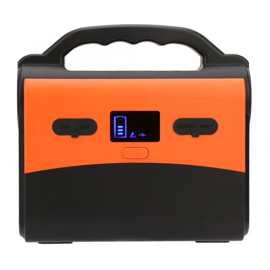 Portable Solar Generator with 36Ah Battery Capacity for Online UPS/Emergency Backup Power Supply 7
