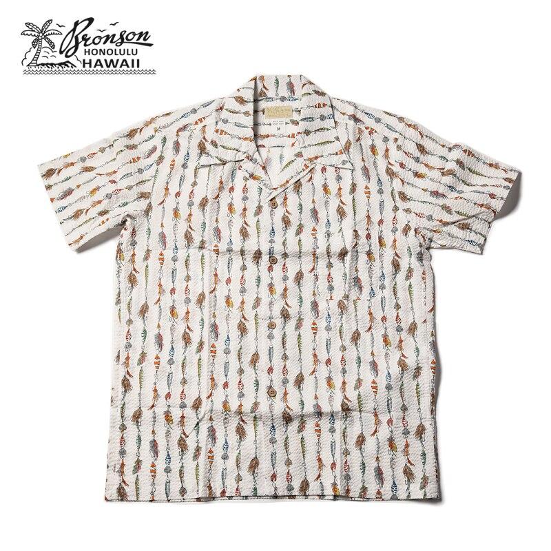 Bronson 40s Aloha Stylish Tropical Hawaiian Shirts Outdoor Beach Short Sleeve