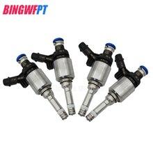 4 Pieces Fuel Injectors OEM 06J906036G For V-olkswagen Passat MAGOTAN Tiguan A4L 2.0T