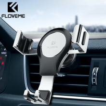 FLOVEME Car Phone Holder For In Air Vent Mount Stand Gravity Mobile Smartphone Cell Support automatico