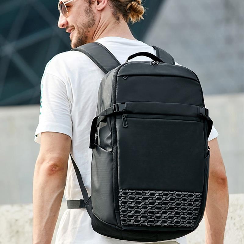Ordinateurs portables d'entreprise sac à dos multi-fonction rétractable ordinateur sac étanche Anti-vol en plein air voyage hommes sac à dos