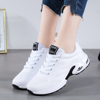 Casual Shoes Women Air Cushion Sneakers Womens White Trainers Ladies Tenis Feminino Zapatos de Mujer Basket Femme Shoe For Woman