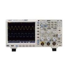 Owin XDS2102A ملتقط الذبذبات الرقمي شاشة الكريستال السائل 2 قنوات 100Mhz عرض النطاق الترددي 12 لدغات عالية الدقة USB راسم الذبذبات