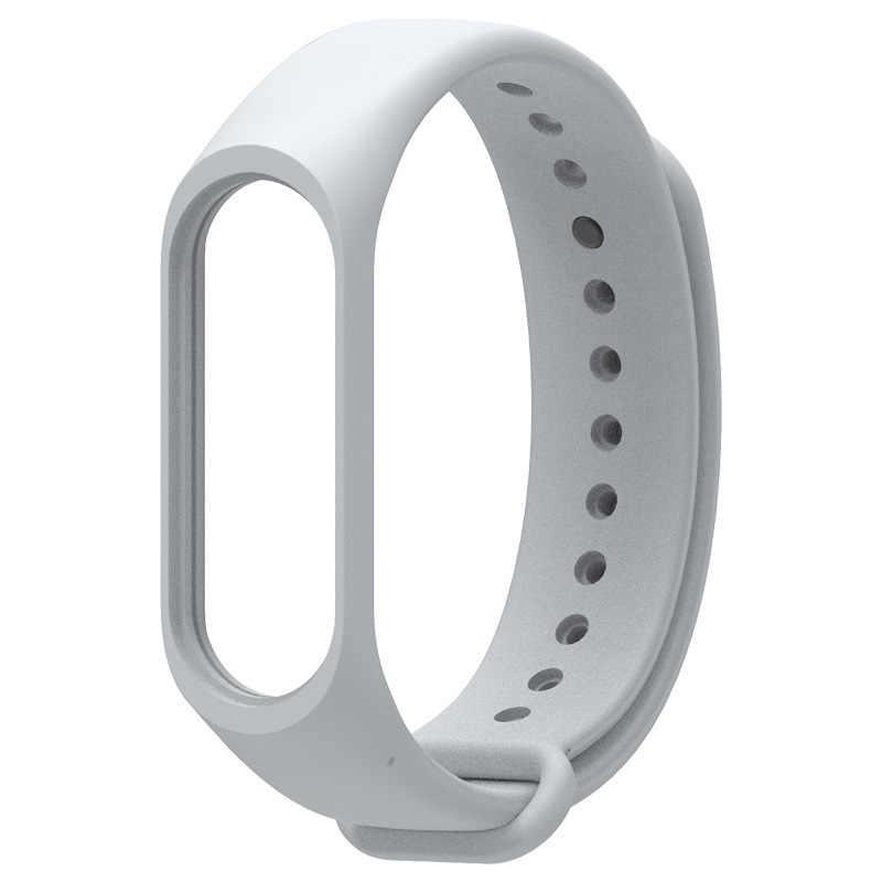 12 الألوان جديد حزام ساعة اليد الذكية اكسسوارات جديد استبدال سيليكون شريط للرسغ حزام (استيك) ساعة ل شياو mi mi الفرقة 4 3 سوار ذكي