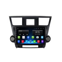 4G LTE Android 8.1 Fit TOYOTA Highlander 2009 2010 2011 2012 2013 2014 Multimedia Stereo Car DVD Player Navigation GPS Radio