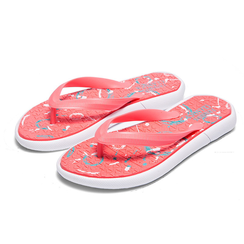 Womens Mens Couple Summer Slip-on Shoes Anti-slip Hard-wearing Fashion Leisure Slippers Beach Swimming Indoor T-tied Flip Flops 1