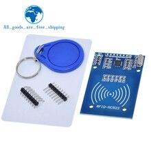 MFRC 522 RC 522 RC522 anten RFID IC kablosuz modülü Arduino için IC anahtar SPI yazar okuyucu IC kart yakınlık modülü