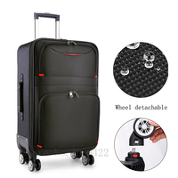 22/24/26/28 inch Travel suitcase with wheels 20'' Cabin carry on trolley luggage bag Waterproof Oxford suitcase rolling luggage