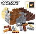 MARUMINE City Part 1x4 Dots кирпичи 15533 дома настенные строительные блоки  совместимые Обучающие Классические DIY MOC развивающие игрушки  набор