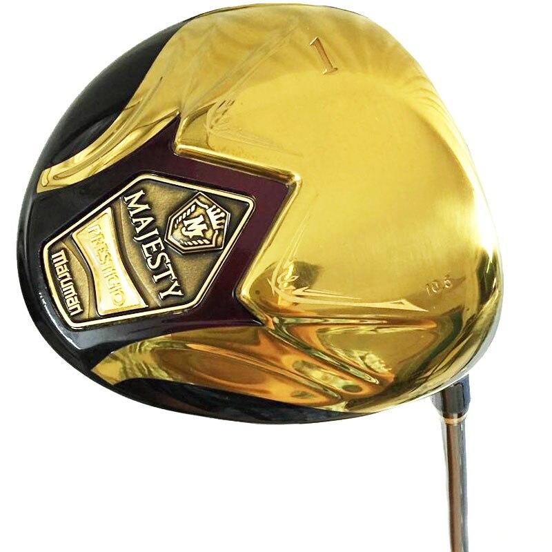 Nouveaux hommes clubs de Golf Maruman majesté super 7 pilote de Golf 9.5 ou 10.5 pilote de loft avec puits de Golf en Graphite Cooyute livraison gratuite