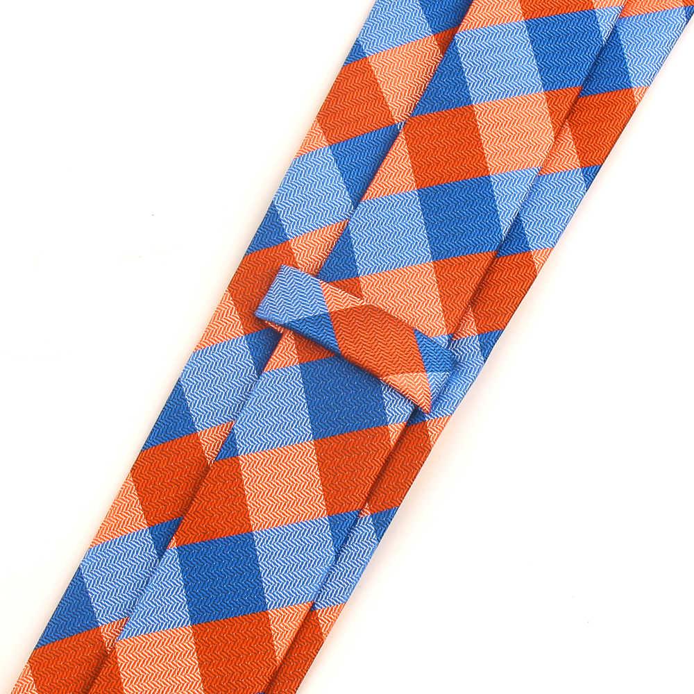 남성 여성을위한 스키니 넥타이 웨딩 비즈니스 정장을위한 클래식 남성 격자 무늬 넥타이 Corbatas 체크 넥타이 슬림 스트라이프 넥타이 Gravatas