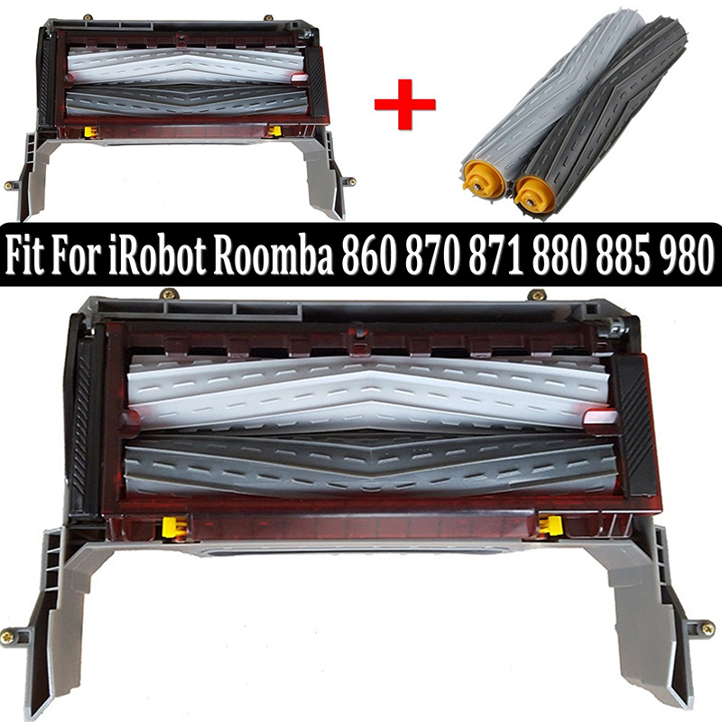 Image 2 - Main roller brush Cleaning Head Module for iRobot Roomba 870 880 980 800 ALL Series vacuum cleaner parts accessories-in Vacuum Cleaner Parts from Home Appliances