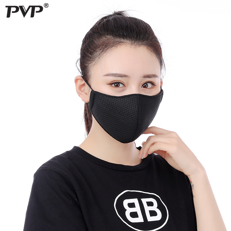 PVP 1Pcs PM2.5 Pollution Mask Anti Air Dust And Smoke Mask With Earloop And Anti Dust Mask , Washable Mouth Mask Made
