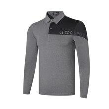Закрученная одежда для гольфа, дышащая футболка с длинным рукавом для гольфа, 4 цвета, S-XXL на выбор, одежда для гольфа