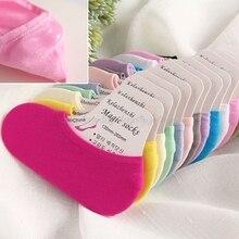 10 пар детских носков летние детские невидимые неглубокие короткие носки-башмачки ярких цветов для девочек Прямая поставка N15 19