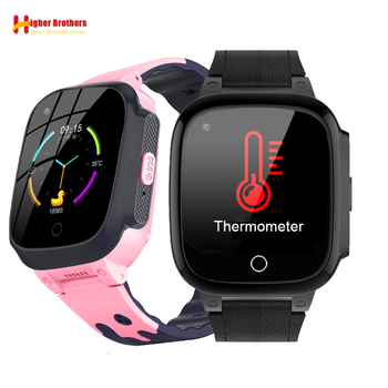 Smart Remote Camera GPS WIFI Trace Location Kids Student Thermometer Monitor 4G Phone Wristwatch Video Call Android Phone Watch