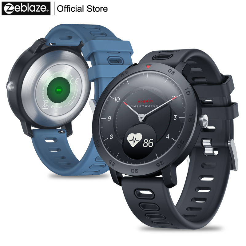 NOVO Híbrido Zeblaze Smartwatch Relógio da Frequência Cardíaca Monitor de Pressão Arterial Inteligente Exercício Notificações de Rastreamento Rastreamento do Sono Inteligente