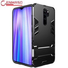 Para Red mi Note 7 funda a prueba de golpes soporte Invisible armadura funda para Xiaomi mi 9 8 Play A3 Lite Se para Red mi Note 8 7 Pro funda(China)