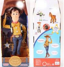 43cm brinquedo história falando amadeirado, ação, brinquedo, figuras modelo brinquedos, crianças presente de natal