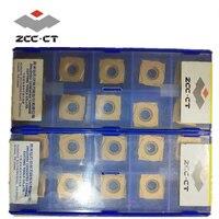 ZCC.CT 10pcs/box YBG302 301 XSEQ1202 XSEQ1203 XSEQ12T3 XSEQ1204 XSEQ12T4 cnc carbide milling inserts face and side cutter SMP01