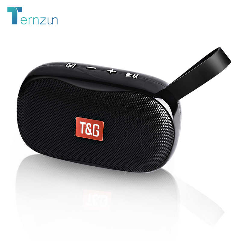 TG-173 Mini Speaker Speaker Portabel Bluetooth Nirkabel Subwoofer Luar Ruangan Speaker Mendukung FM TF Card