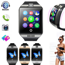 Buy Q18 Bluetoth Smart Watch GSM Camera TF Card Phone Wrist Watch for Android directly from merchant!
