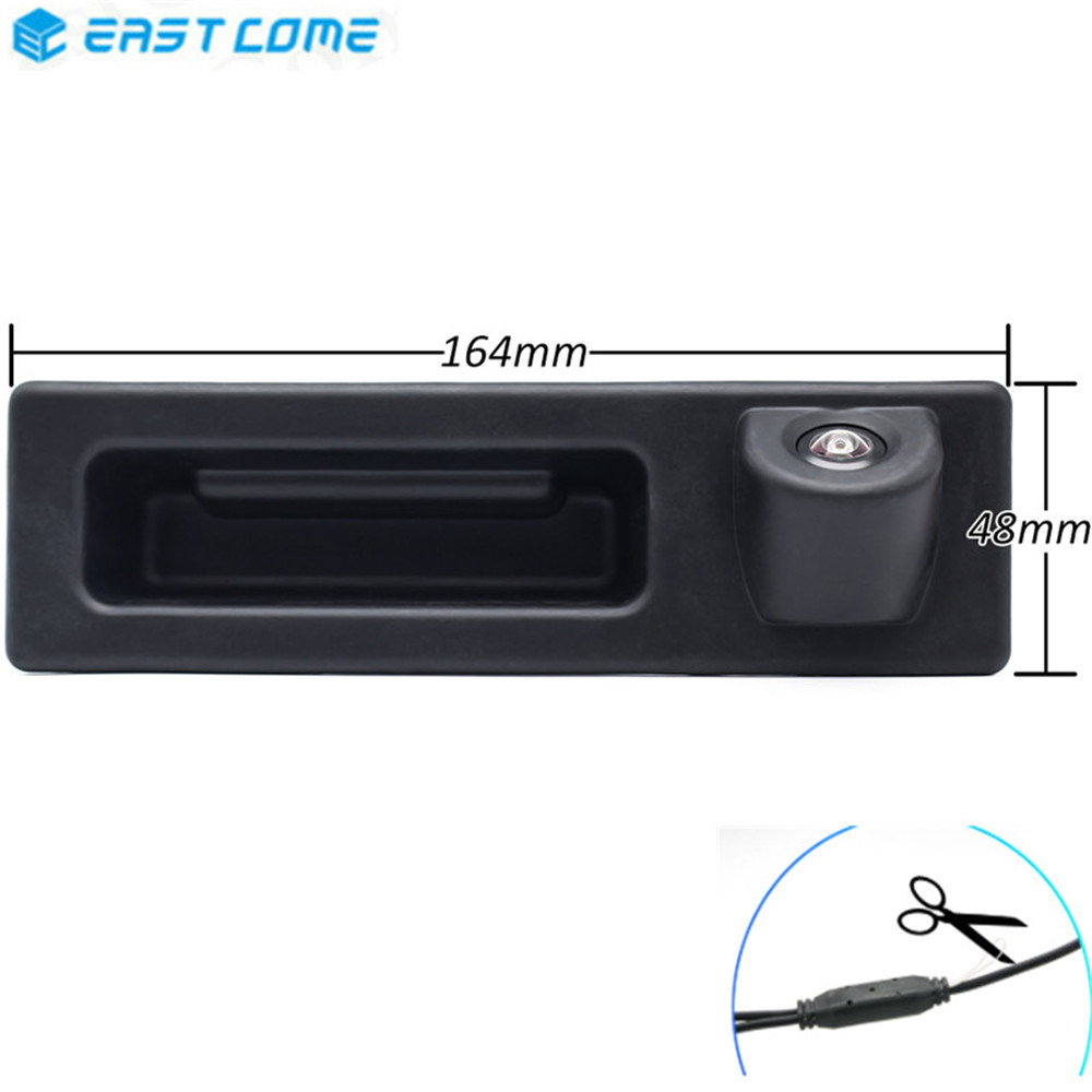 HD 1080P Trunk Handle Reverse Parking Car Rear View Camera For BMW X1 X3 X4 X5 F30 F31 F34 F07 F10 F11 F25 F26 E84 Car Camera