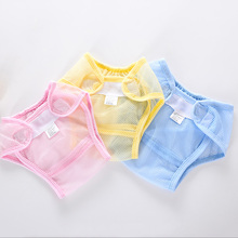 New Washable Mesh Pocket Nappy Newborn Summer Breathable Diapers Infant Cotton liner Baby Diapers Reusable Nappies Cloth Diaper