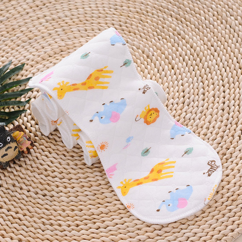 Reusable Baby Diaper Cloth Diaper Insert 1 Piece 3 Layer/6 Layer Insert 100% Cotton Washable Baby Care Product Peanut Shape