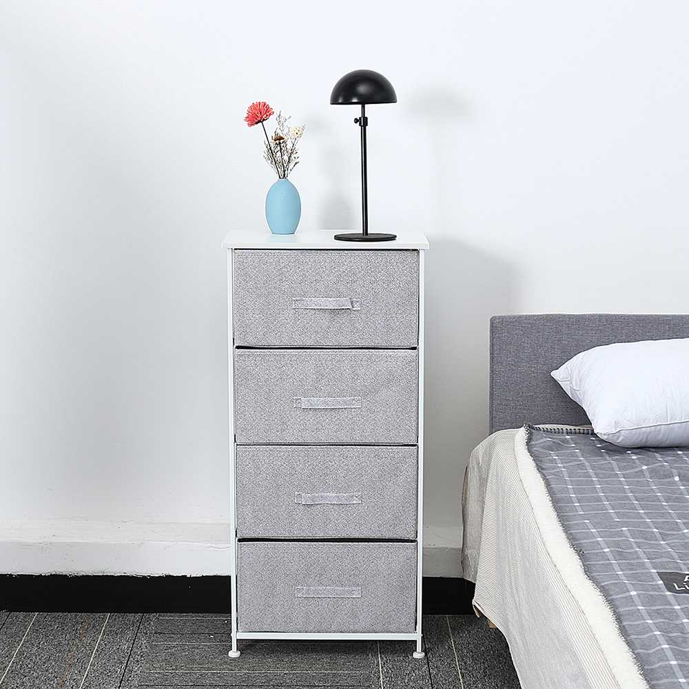 Nightstands Cabinet Bookshelf-Decorations-Stand Bedroom Office 4-Drawers Home File Living-Room title=