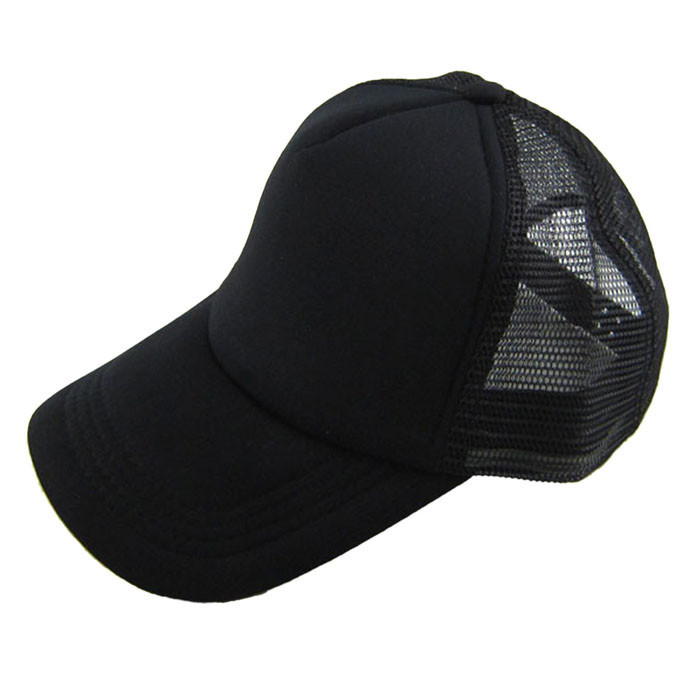 Unisex Casual Hat Solid Baseball Cap Trucker Mesh Blank Visor Hat Adjustable Men's And Women's Casual Hats